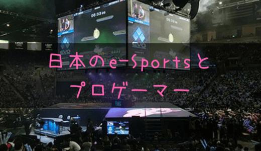 プロゲーマーを副業とする人が増えてきて日本でのe-Sportsも徐々に活発化!