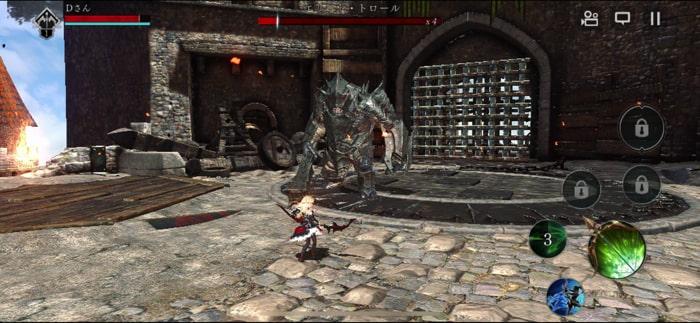 ダークアベンジャーX(クロス)のスクリーンショット